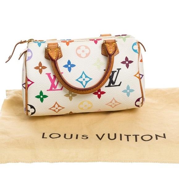 Louis Vuitton Handbags - LOUIS VUITTON Multicolor Mini Sac HL Speedy Bag 5983a1db1fc37